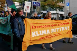 Rierproduktion stoppen! Klima retten!