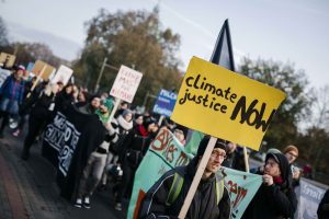 Demo EuroTier Climate Justice Now