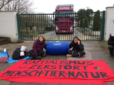 Animal Climate Action - Wiesenhof Blockade
