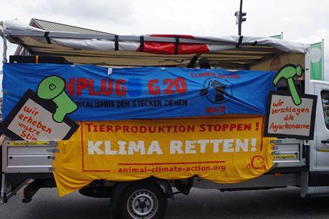 Animal Climate Action - Grenzenlose Solidarität statt G20