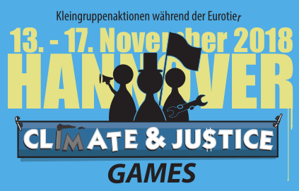 banner climate & justice games